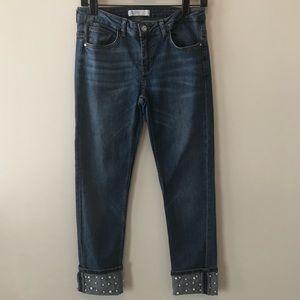 Zara skinny Pearl Jeans